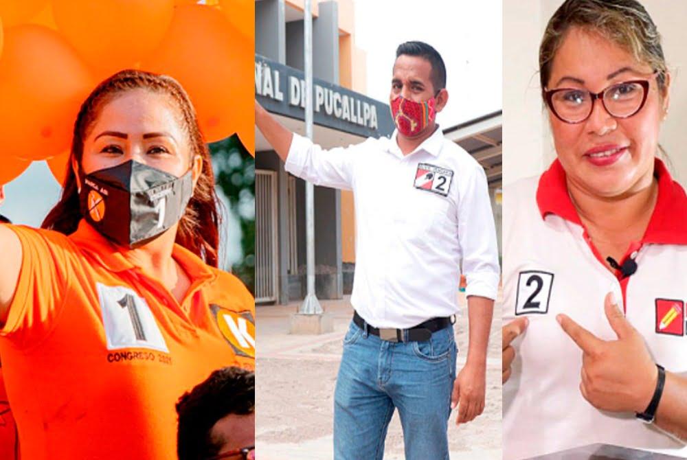 Jeny López, Elvis Vergara Y Francis Paredes son los nuevos congresistas de Ucayali