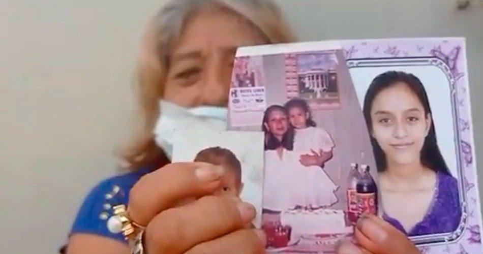 Abuelita busca con desesperación a sus dos nietas