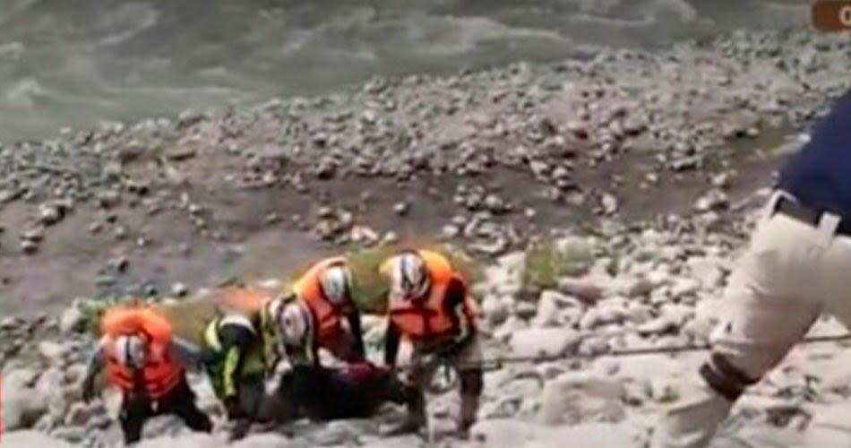 Chofer fue encontrado sin vida en el río Rímac