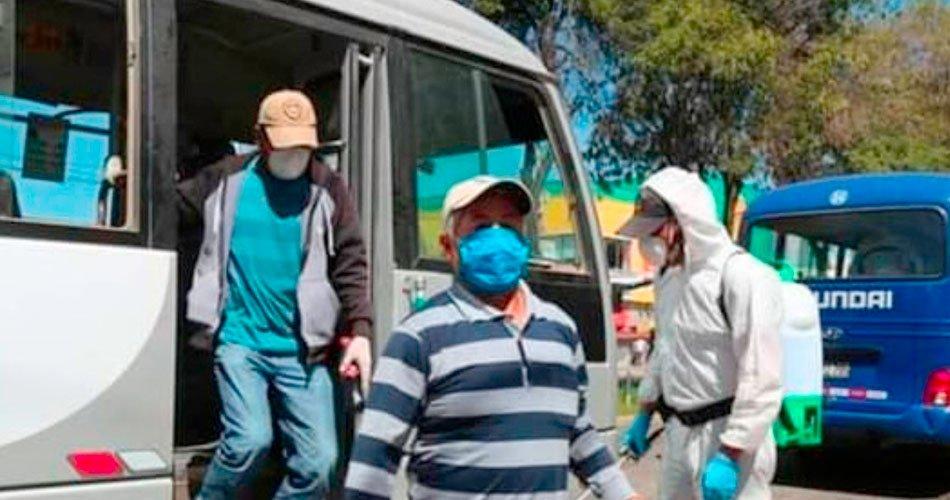 Cómo reducir el riesgo de contagio en el transporte público
