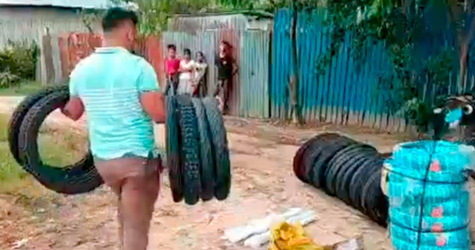 Policía recupero accesorios de vehículos robados