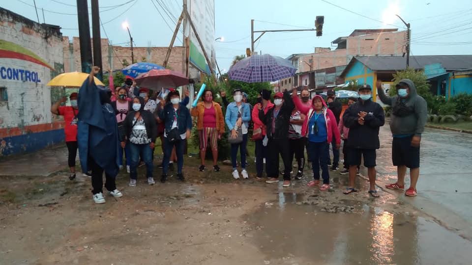 Trabajadores de Punchana exigen el pago de sus beneficios laborales