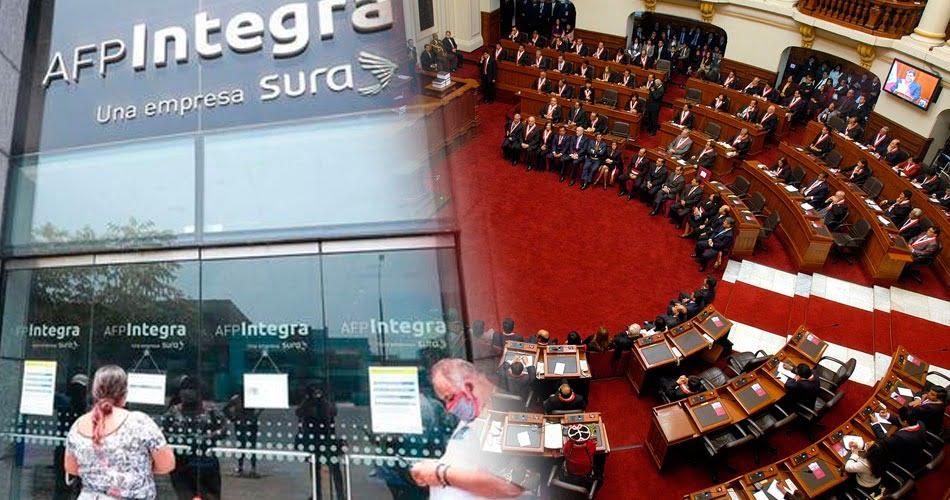 Pleno del congreso aprueba por insistencia el retiro de aportes de la AFP