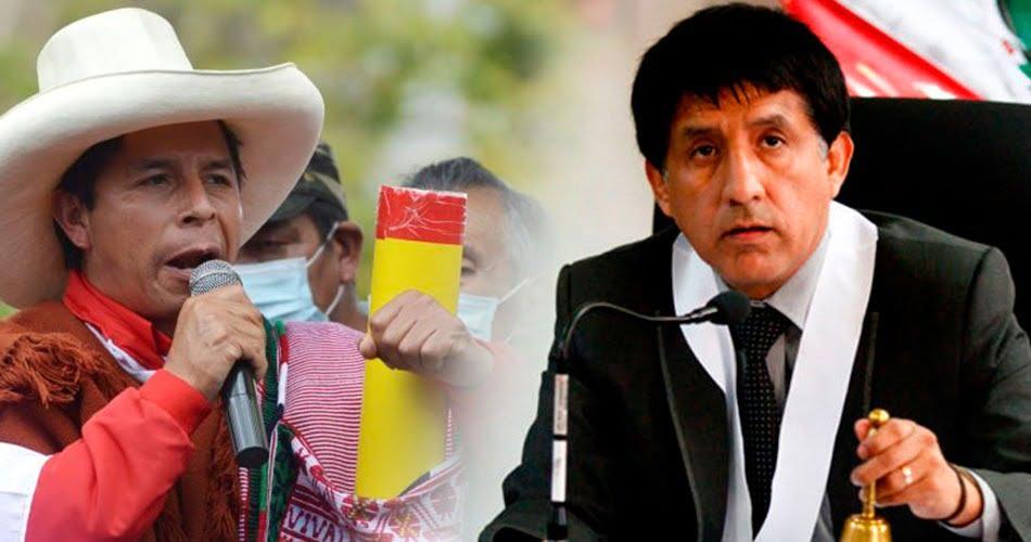 Seguidores de Castillo piden que Carhuancho sea su ministro de justicia